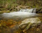 Vodopád na Bílé Opavě - 13467 x 7575 pix. Maximální velikost tapety 338 x 190 cm. Složeno ze 111 fotografií. 4 řadé panorama, 4x focus bracketing